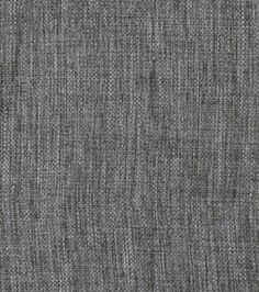 Home Decor Solid Fabric- Signature Series Inverness-Steel & home decor solid fabric at Joann.com