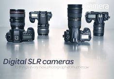 Digital SLR cameras are the preferred tool of most professional photographers, but what is a digital SLR, and how do they work? We explain all.