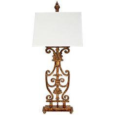 Walker Banister Iron Table Lamp
