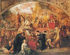 "Sir John Gilbert (1817-1897) - ""The Plays of William Shakespeare"""