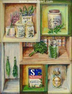 Scarborough Fair is an original oil painting by  Debra Keirce