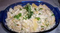 A careful blending of cheeses, vegetables and herbs with pasta makes for a warm and wonderful meal. Ingredients 1 tablespoon extra virgin olive oil (EVOO) 2 tablespoons butter 1 large onion, chopped 2 large cloves garlic, finely chopped Salt and pepper 1 bay leaf 1/2 cup dry white wine (optional) 1/2 cup chicken stock (if …