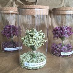 Dried Flower Bouquet, Diy Bouquet, Dried Flowers, Crafts With Glass Jars, Goth Home Decor, Handmade Jewelry Box, Dried Flower Arrangements, Bottle Jewelry, Tissue Paper Flowers