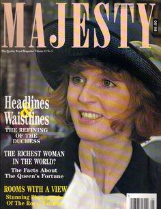 SARAH FERGUSON UK Majesty Magazine 5/91 Vol 12 No 5