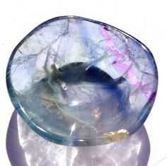 Lovely addition for your meditation, Reiki, altar work and all your Spiritual needs.. The perfect size to tuck away on a window sill , small altar or use for meditation - Place intentions inside to manifest your desires, charge jewelry, cleanse other small items...Small Blue Fluorite Gemstone Bowl Crystal Healing Metaphysical Stone Manifesting Reiki Altar Vessel