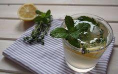 Zitronige Kräuterlimonade mit Rejuvelac...