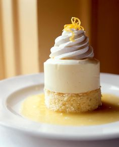 This lemon semifreddo recipe, a citrusy frozen terrine, is an ideal dessert to make ahead and pull out, slice, and serve. Mini Desserts, Ice Cream Desserts, Italian Desserts, Desserts To Make, Frozen Desserts, Delicious Desserts, Christmas Desserts, Lemon Dessert Recipes, Lemon Recipes