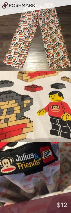 Lego my eggo pajama pants sz L Julius and friends lego pj Lego Intimates & Sleepwear Pajamas