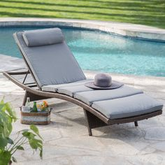 2/$500. Coral Coast Sola All-Weather Wicker Adjustable Chaise Lounge - Set of 2 - Outdoor Chaise Lounges at Hayneedle
