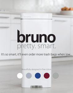 bruno SmartCan Features