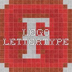 Lego lettertype