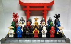Ninjago minifigs