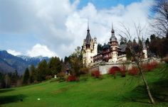 Peles Castle Peles Castle, Barcelona Cathedral, Mansions, Visit Romania, House Styles, Building, Places, Travel, Romania