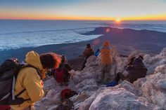 Teide sunrise by Francesco  Pandolfo on 500px  I would love to see this