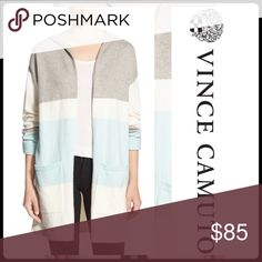 🔸FALL PREVIEW🔸STRIPED HOODED CARDIGAN A cozy outer layer for casual days, a long cardigan takes shape with an oversized hood, open front and slouchy drop-shoulder styling.  - No closure - Long sleeves - Front patch pockets - 57% cotton, 28% acrylic, 15% polyester - Hand wash cold, dry flat  🛍 2+ BUNDLE=SAVE  ‼️NO TRADES--NO HOLDS--NO MODELING  💯 Brand Authentic   ✈️ Ship Same Day--Purchase By 2PM PST  🖲 USE BLUE OFFER BUTTON TO NEGOTIATE   ✔️ Ask Questions Not Answered In…