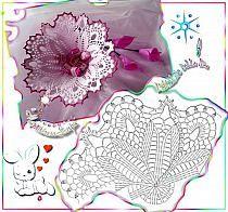 Christmas Crochet Patterns - Beautiful Crochet Patterns and Knitting Patterns Crochet Diagram, Freeform Crochet, Crochet Art, Crochet Home, Thread Crochet, Crochet Gifts, Crochet Motif, Irish Crochet, Christmas Crochet Patterns