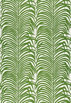 Zebra Palm Linen Print 174871 Jungle - Schumacher Fabrics drapery and upholstery fabric offered online by the yard at unbeatable discount prices with Schumacher Fabric samples available, quick shipping and unsurpassed customer service. Motifs Textiles, Textile Patterns, Motif Floral, Arte Floral, Motif Tropical, Tropical Decor, Tropical Prints, Tropical Design, Tropical Pattern