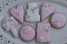 Wedding cookie set | Cookie Connection