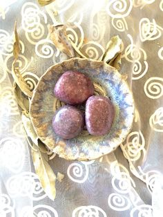 Lepidolite Tumbled Stones! Calming and Transforming! by shspirithouse on Etsy