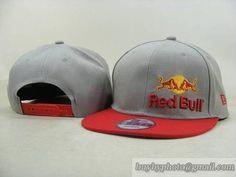 Cheap Wholesale Red Bull Snapback Hats Adjustable Cap Gray Red (New Era) 008 dbc2230b17a