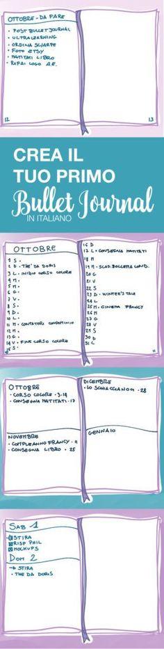 Bullet journal cheat sheet lo schemino utile per for Crea il mio piano personale gratuito