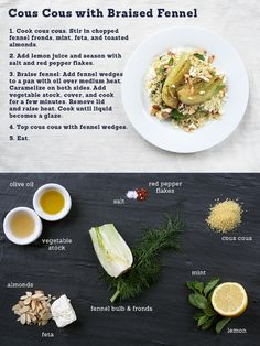 CousCous with Braised Fennel
