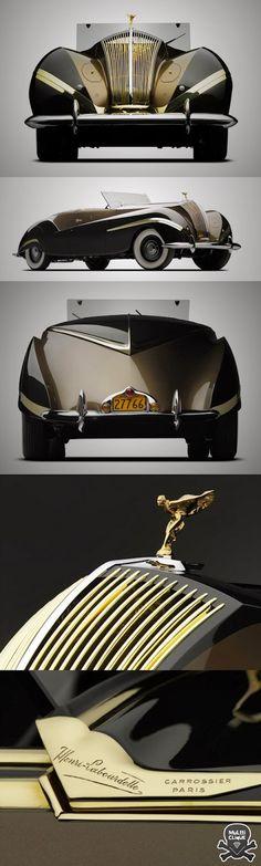 Conoce el Rolls-Royce Phantom III Cabriolet 1939
