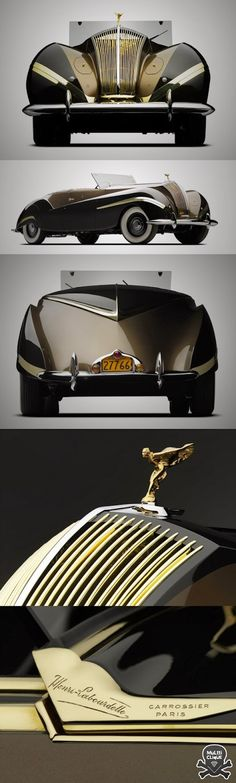 You will ❤ MACHINE Shop Café... ❤ Best of Bugatti @ MACHINE ❤ (1939 Conoce el Rolls-Royce Phantom III Cabriolet)