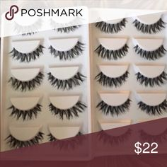 40 Pairs of False Lashes💕 5⭐️Rated Product! NWT!!! Great for Crescent, almond, and exotic shaped eyes. Not MAC but highly recommended if you ❤MAC MAC Cosmetics Makeup False Eyelashes