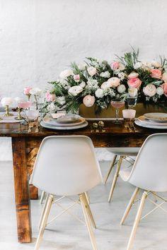 indie pink wedding inspiration