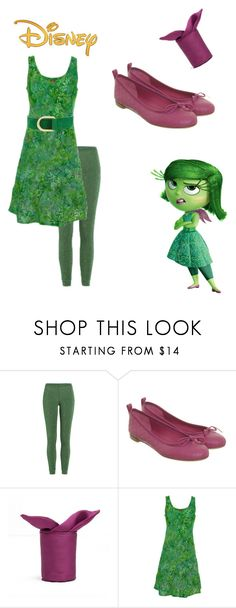 """""""Disgust -  inside out"""" by pink-roosje ❤ liked on Polyvore featuring Disney, Missoni, Gucci, Ojai Clothing and Barbara Bui"""