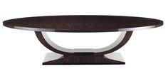 The Ovington Table in Dark Tinted Macassar Ebony