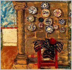 Obra del pintor español Benjamín Palencia