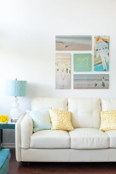 Create a Gallery Wall with Shutterfly's Design-A-Wall tool kit. #design #photography #ShutterflyDecor