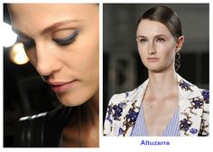 Subtle but cool make up by Altuzarra