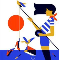 Malika Favre é uma artista (designer/ilustradora) francesa que atualmente mora…
