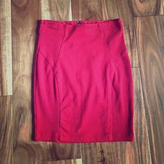 Forever 21 Pencil Skirt Size small pencil skirt. Worn once! Forever 21 Skirts Pencil