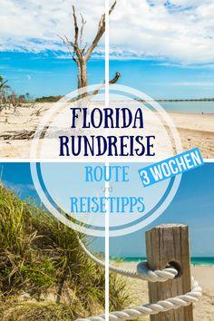 Florida Rundreise 3 Wochen - Route Florida und Reisetipps Florida - Tipps für deine Rundreise durch Florida. Mehr Insider-Tipps und Geheimtipps rund um deinen Urlaub in Florida findest du auch auf dem Reiseblog. #Florida #Rundreise #Urlaub #Sehenswürdigkeiten