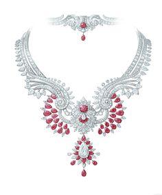 Van Cleef & Arpels Pierres de Caractère Oriental Princess necklace