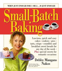 Small-Batch Baking: When Just Enought for 1 or 2...Is Just Enough!
