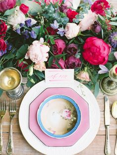Hot Pink Vancouver Wedding Inspiration from Christie Graham Photography - MODwedding
