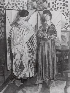Nina Hamnett and Winifred Gill in Omega fabric1932 Hamnett published Laughing Torso, a tale of her bohemian life, which became a bestseller in the United Kingdom and United States. The notorious occultist Aleister   Crowley unsuccessfully sued her and the publisher for libel over allegations of Black Magic made in her book.