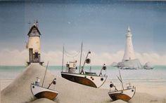Gary Walton - Goldfish Cottage (Original). . . .