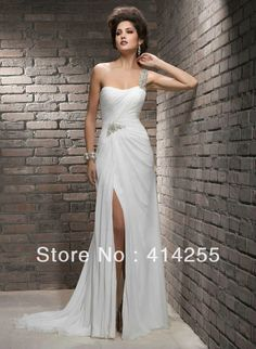 Simple Vestidos De Novia No Amplios Buscar Con Google Chiffon Wedding With Goddess Gowns