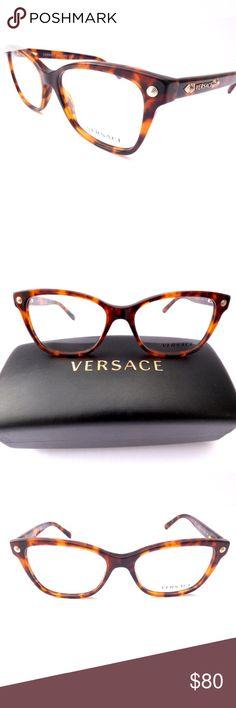 d2dd2a17ad 100% Authentic Versace Tortoiseshell Eyeglasses