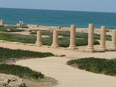"""Caesarea or """"Keysarya"""" was an Ancient Roman city which is now a large archaeological site in Israel. It is believed that the city of Caesarea was initially founded atop the ruins of Straton's Tower, a third century BC Phoenician port city.  Conquered by King Alexander Jannaeus of the Hasmonean Kingdom in 90 BC, Caesarea's population remained under local control until it was taken by the Romans in 63 BC. It was King Herod the Great who named the city Caesarea – after Augustus Caesar - and who…"""
