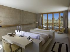 Love this desk/bed/sofa unit.  The Amangiri Resort and Spa » CONTEMPORIST