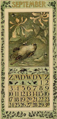 Theodoor van Hoytema, calendar 1911 september