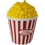 lenta Rising squishies Jumbo, palomitas de maíz Scented Squeeze Pascua Alivio del estrés Toy (Color al azar), Popcorn
