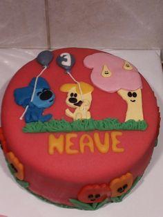 Woezel en Pip taart door Mo's Home Bakery